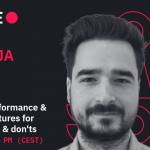 Live predavanje: Building high-performance & scalable architectures for enterprises – do's & don'ts