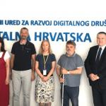 Održan sastanak s Udrugom slijepih Sisačko-moslavačke županije, na temu digitalne pristupačnosti
