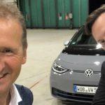 Elon Musk posjetio šefa Volkswagena i provozao ID.3