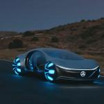 Mercedesov futuristički koncept Vision AVTR snimljen u prvoj pokusnoj vožnji