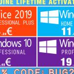 Trajno aktivirajte postojeću ili novu Windows 10 Pro instalaciju za samo 12,45 eura